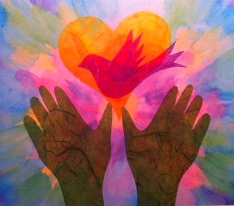 Hands of Peace by Anne Astrella Redmon